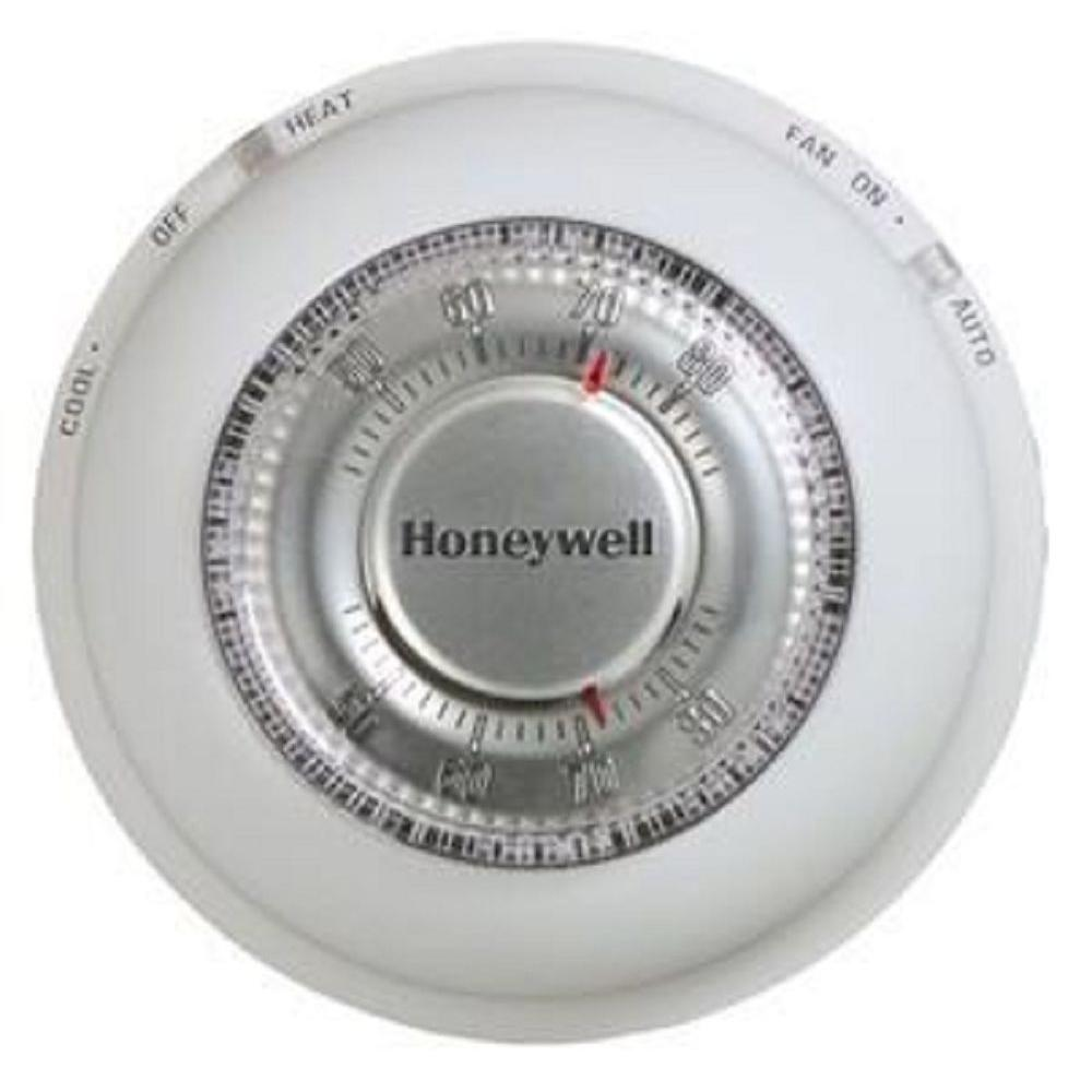 Round Mercury Free Thermostat