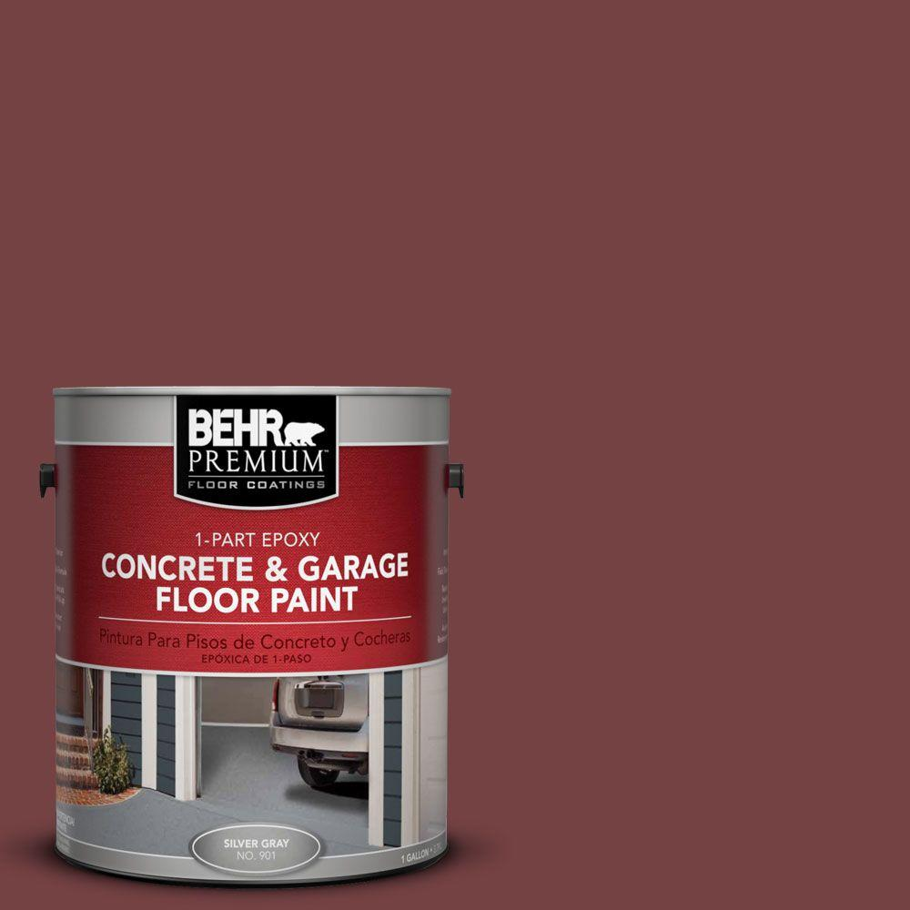 Behr Premium 1 Gal Pfc 04 Tile Red 1 Part Epoxy Concrete And