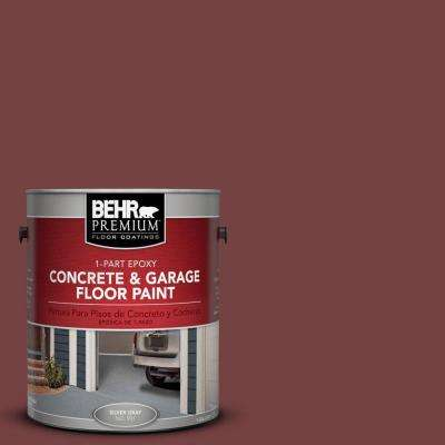 1 gal. #PFC-04 Tile Red 1-Part Epoxy Concrete and Garage Floor Paint