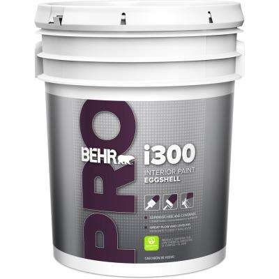 5 gal. i300 White Eggshell Interior Paint