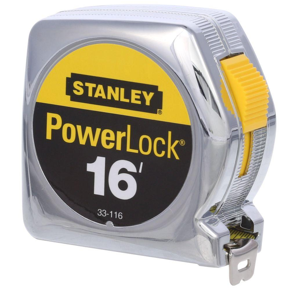 Stanley PowerLock 16 ft. x 3/4 in. Tape Measure