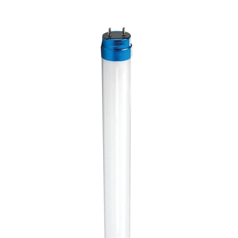 Philips 22-Watt (40-W) T8 4 ft. Linear Cool White(4000K) LED Light Bulb (2-Pack)