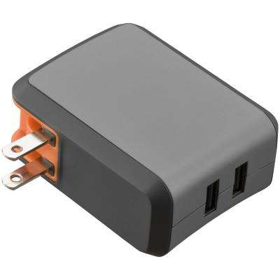 Wallport R2240 2.4 Amp Wall Charger Dual Lightning