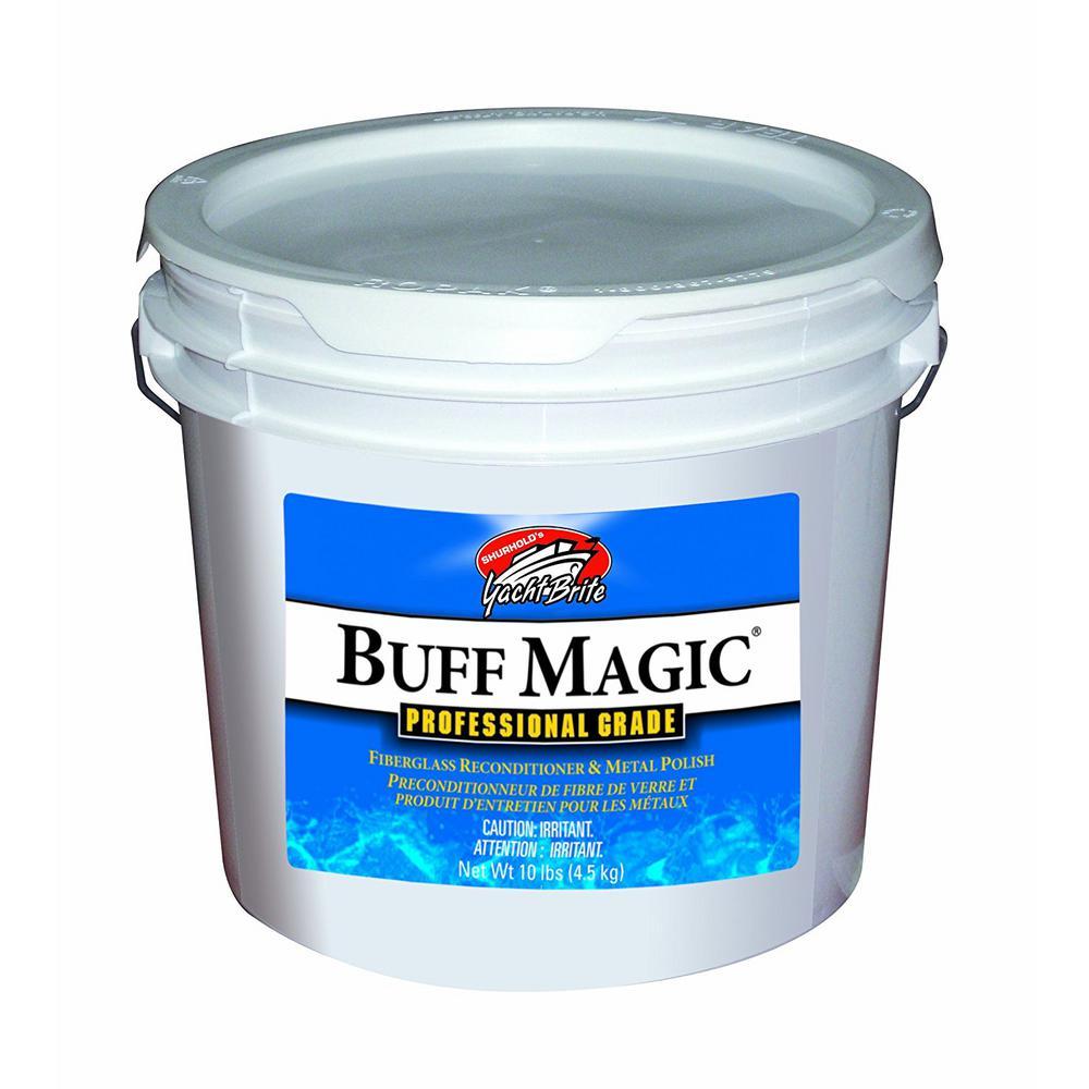 10 lb. Pail White Buff Magic