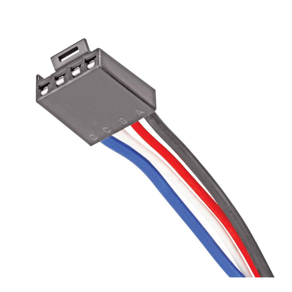 reese towpower brake control adapter harness 8506911 the home depot reese t-connector wiring harness reese towpower brake control adapter harness
