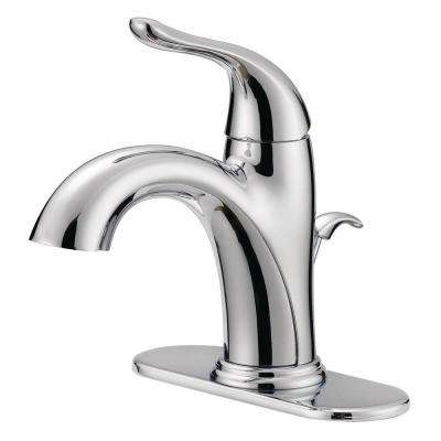 Impressions Collection 4 in. Centerset Single-Handle Bathroom Faucet with Pop-Up in Chrome