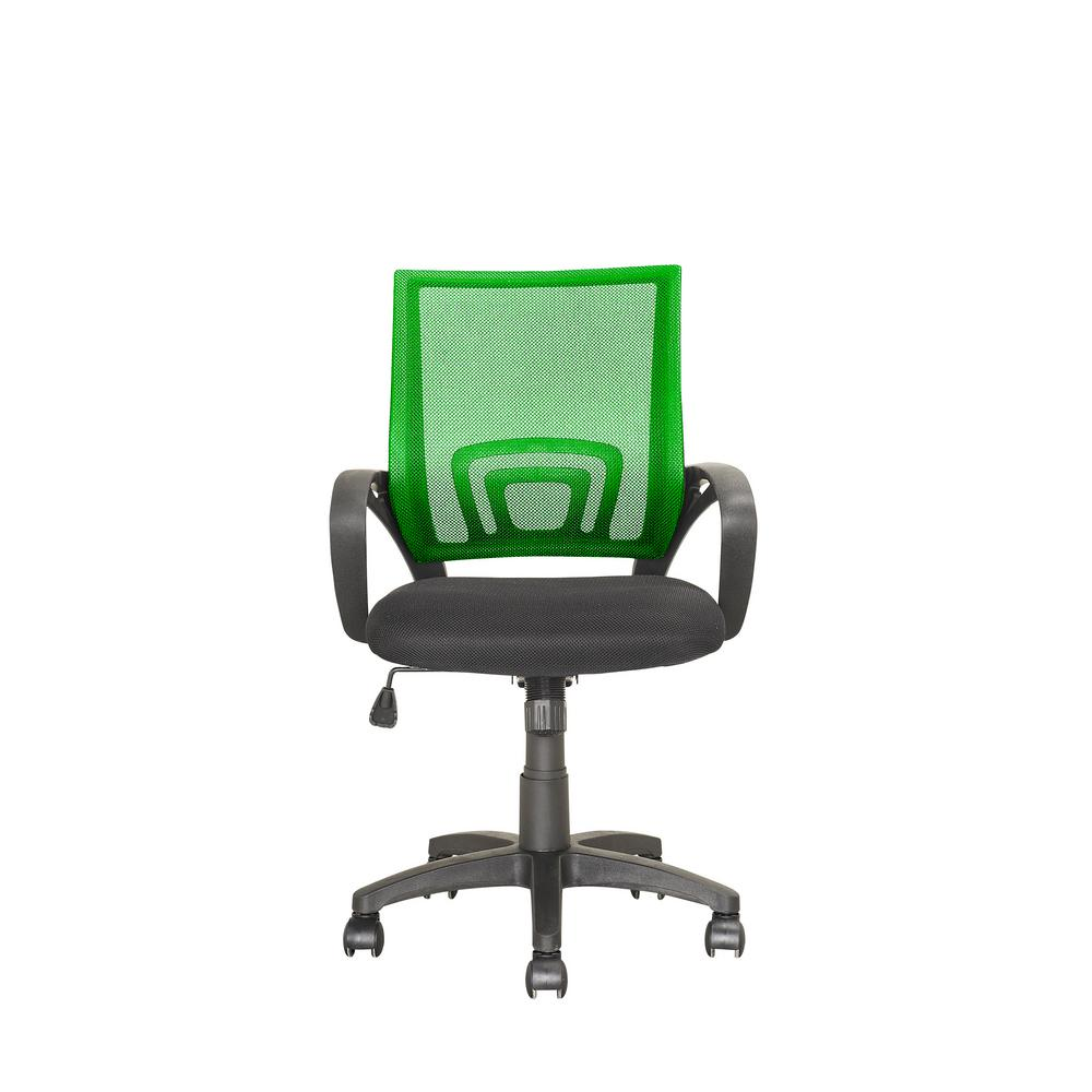 CorLiving Workspace Light Green Mesh Back Office Chair-LOF