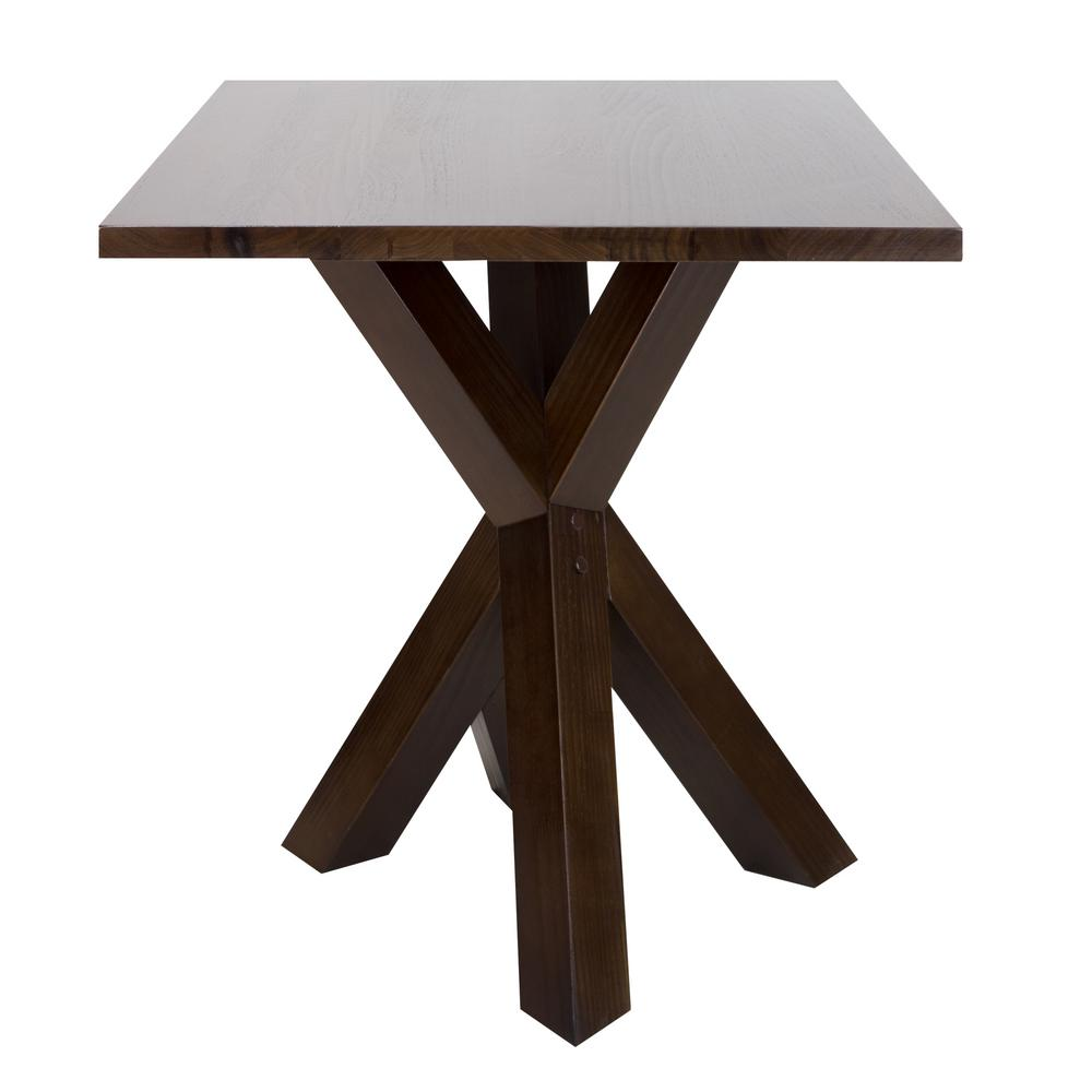 American Trails Ridgefield Natural Thick Solid Walnut Wood Top End Table