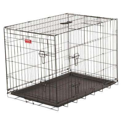 30 in. Long Training Crate with 2-Door