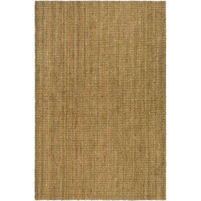 Natural Fiber Beige 7 ft. 6 in. x 9 ft. 6 in. Area Rug