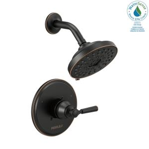 Westchester 1-Handle Wall Mount Shower Faucet Trim Kit in Oil Rubbed Bronze (Valve not Included)