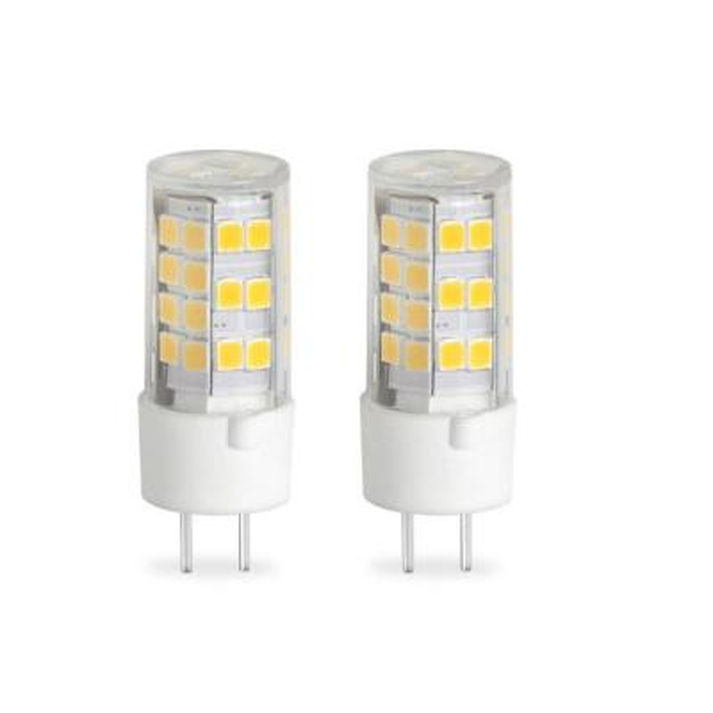35-Watt Equivalent T4 Dimmable Bi-Pin (GY6.35) LED Light Bulb Warm White Light (2-Pack)