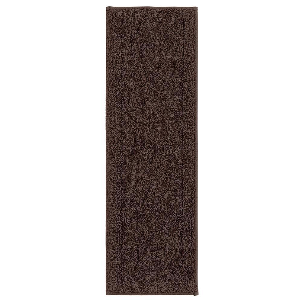 Foliage Chocolate 2 ft. x 6 ft. Rectangle Area Rug