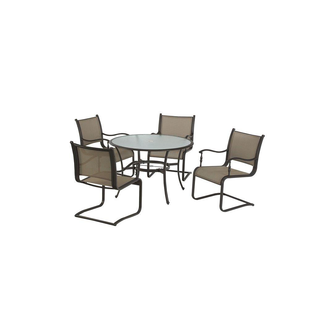 Martha Stewart Living Welland Patio Dining Chairs (Set of 4)-DISCONTINUED