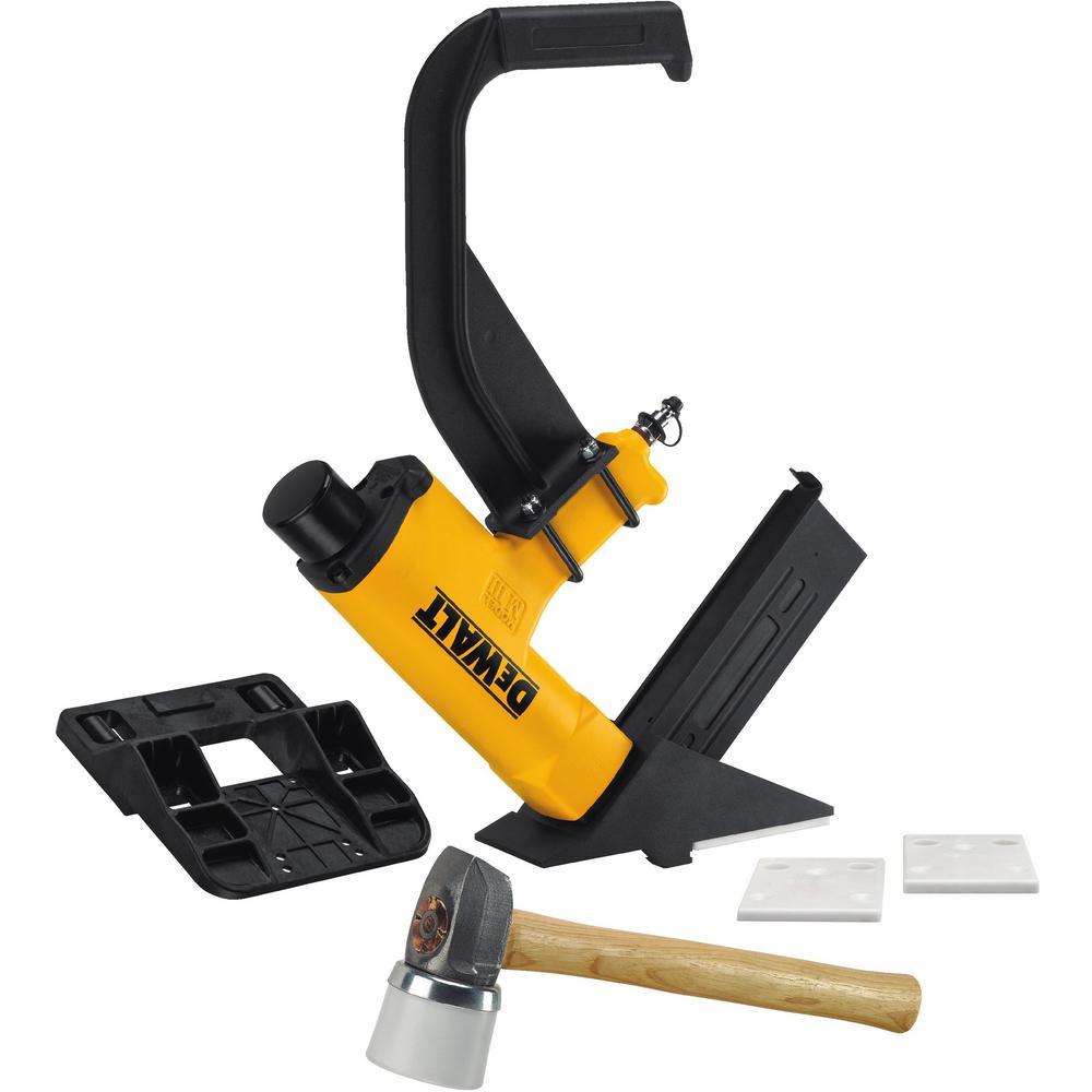 Pneumatic 15.5-Gauge Hardwood Flooring Stapler