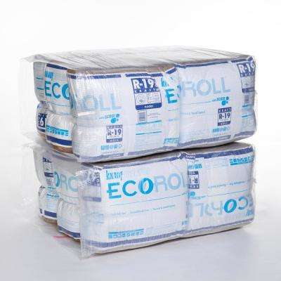R-19 Kraft Faced Fiberglass Insulation Roll 23 in. x 39.2 ft. (12-Rolls)