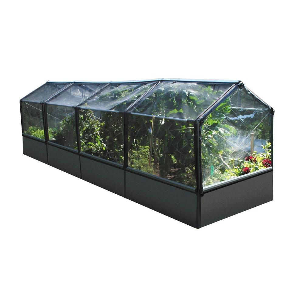 null Grow Camp 4 ft. x 28 ft. Modular Greenhouse