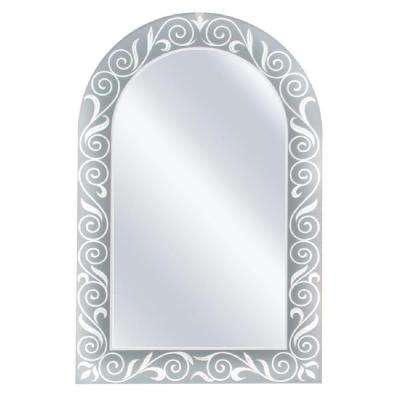 23 in. x 35 in. Spring Arch Mirror