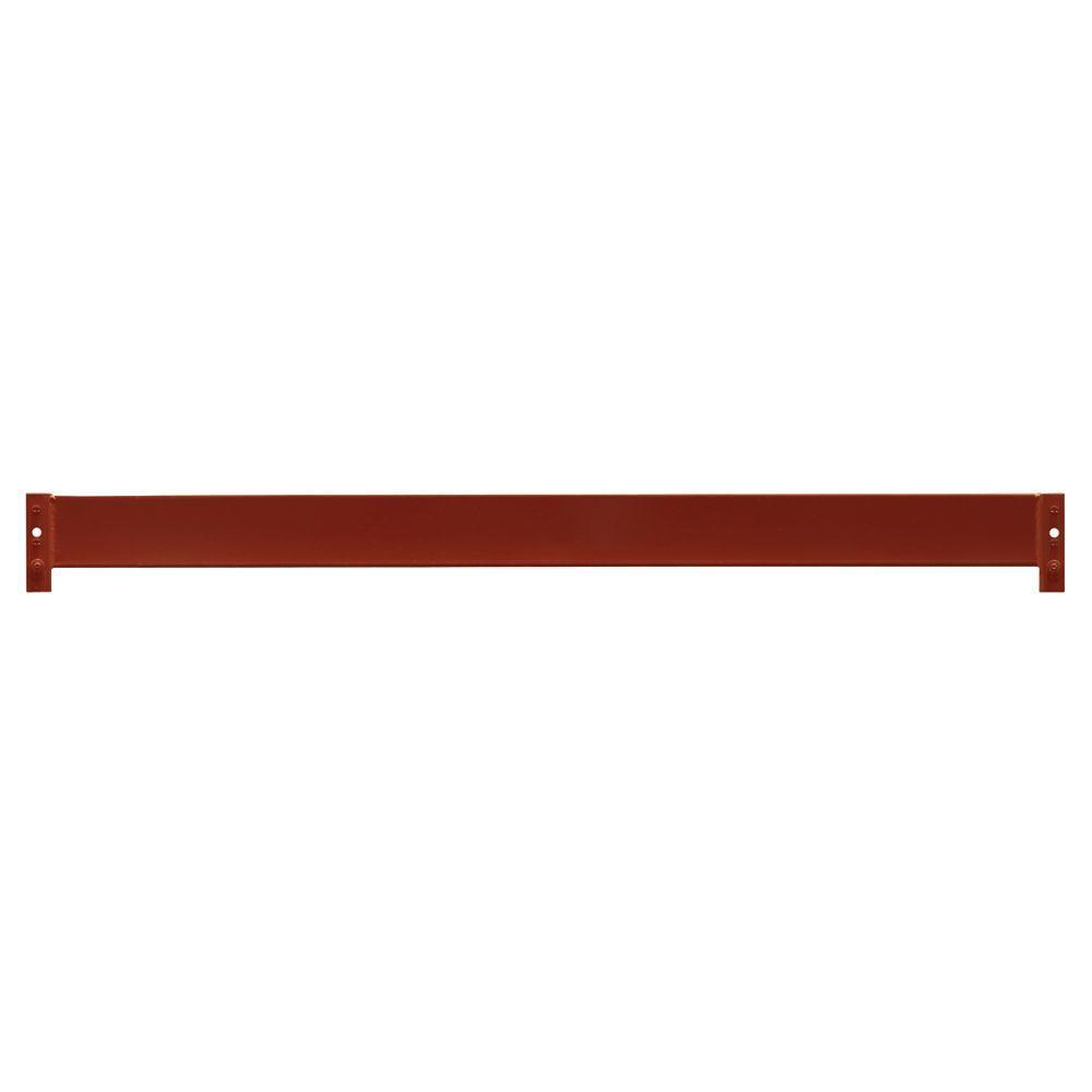 Sandusky 4 in. H x 96 in. W x 3 in. D Steel Commercial Pallet Shelf Rack Beam in Orange