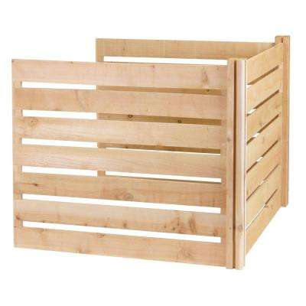 Greenes 309.17 Gal. Cedar Wood Stationary Composter Add on Kit