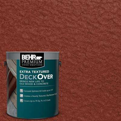 1 gal. #SC-330 Redwood Extra Textured Wood and Concrete Coating
