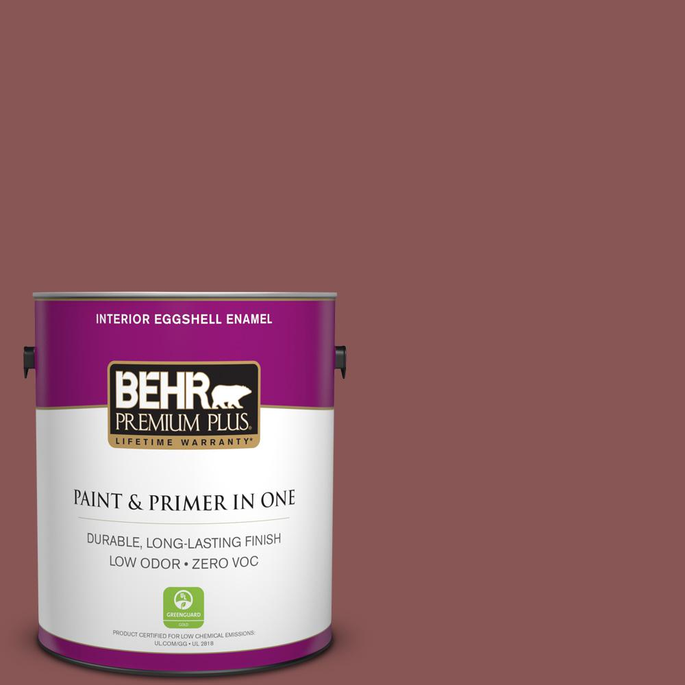 1 gal. #PPU1-09 Red Willow Zero VOC Eggshell Enamel Interior Paint