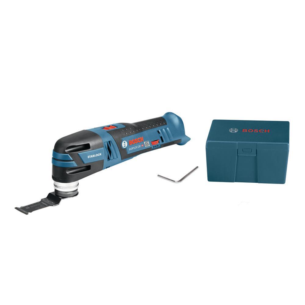 12-Volt Max EC Brushless Starlock Oscillating Multi-Tool (Bare Tool)