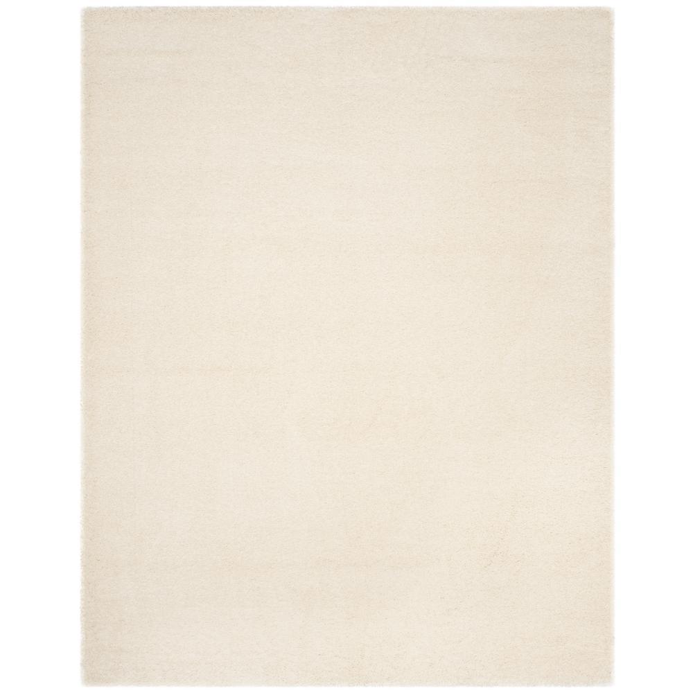 Charlotte Shag White 5 ft. 1 in. x 7 ft. 6