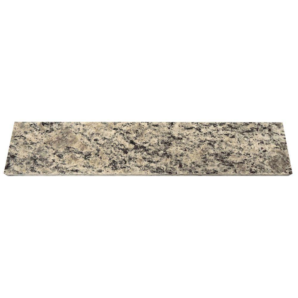 18 in. Granite Sidesplash in Santa Cecilia