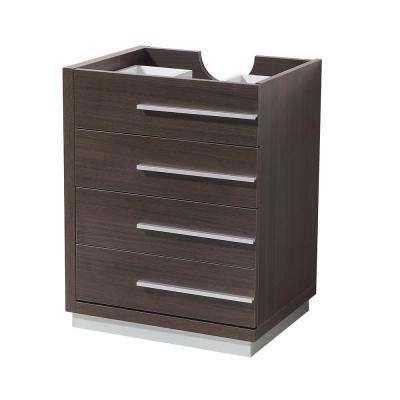 Livello 24 in. Bathroom Vanity Cabinet Only in Gray Oak