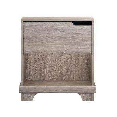 Waterloo 1-Drawer Sonoma Nightstand