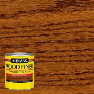 Minwax 1 Qt Wood Finish Red Chestnut Oil Based Interior