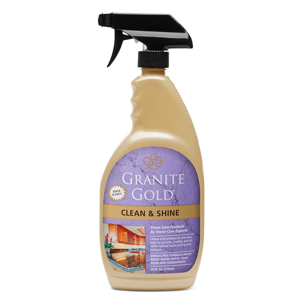 Granite Gold 24 Oz Clean And Shine Spray Gg0047 The