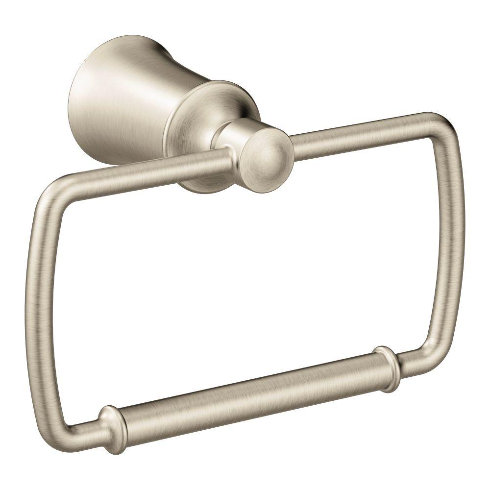 Dartmoor Towel Ring in Brushed Nickel