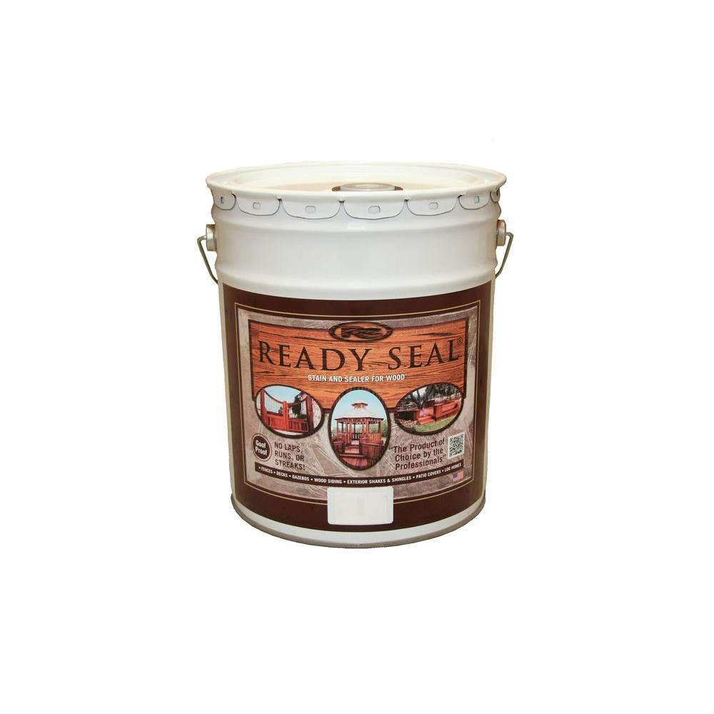Ready Seal 5 Gal Clear Exterior Wood Stain And Sealer 500 The Home Depot