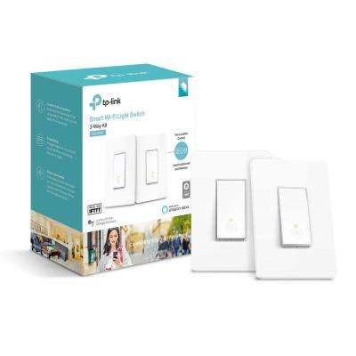 Smart Wi-Fi Light Switch with 3-Way Kit