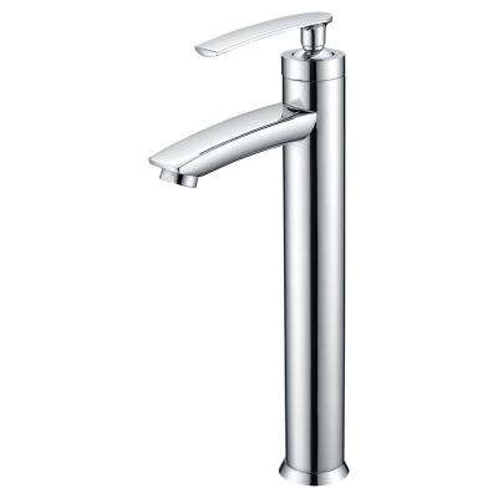 Fifth Single Hole Single-Handle Bathroom Faucet in Polished Chrome