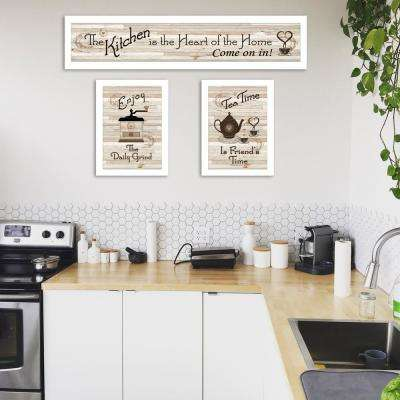 """Kitchen Friendship Collection III"" by Millwork Engineering Framed Wall Art"