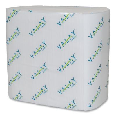 Valay Interfolded Napkins, 2-Ply, 6.5 in. x 8.25 in., White, 500/Pack, 12 Packs/Carton