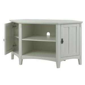 Home Decorators Collection Artisan White Storage Entertainment