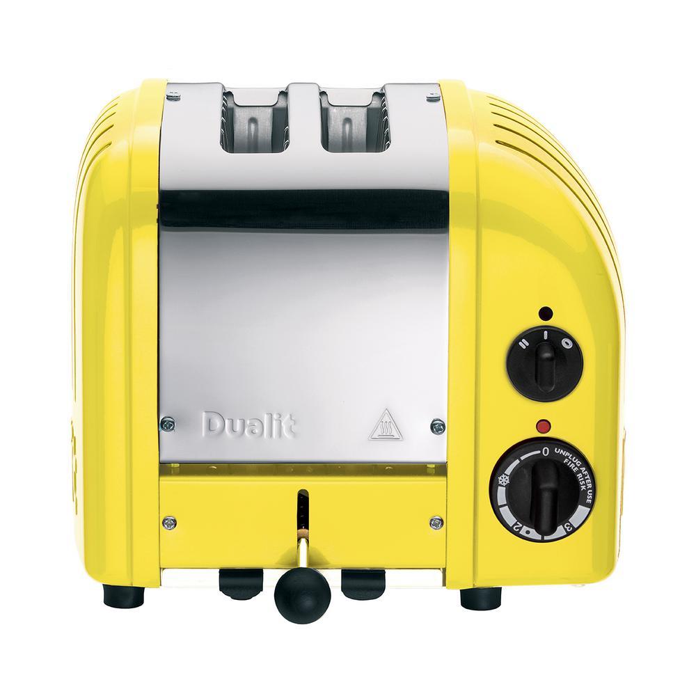 Dualit NewGen 2-slice Citrus Yellow Toaster