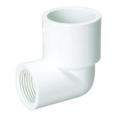 3/4 in. x 1/2 in. Sch. 40 PVC 90-Degree Slip x FIPT Elbow