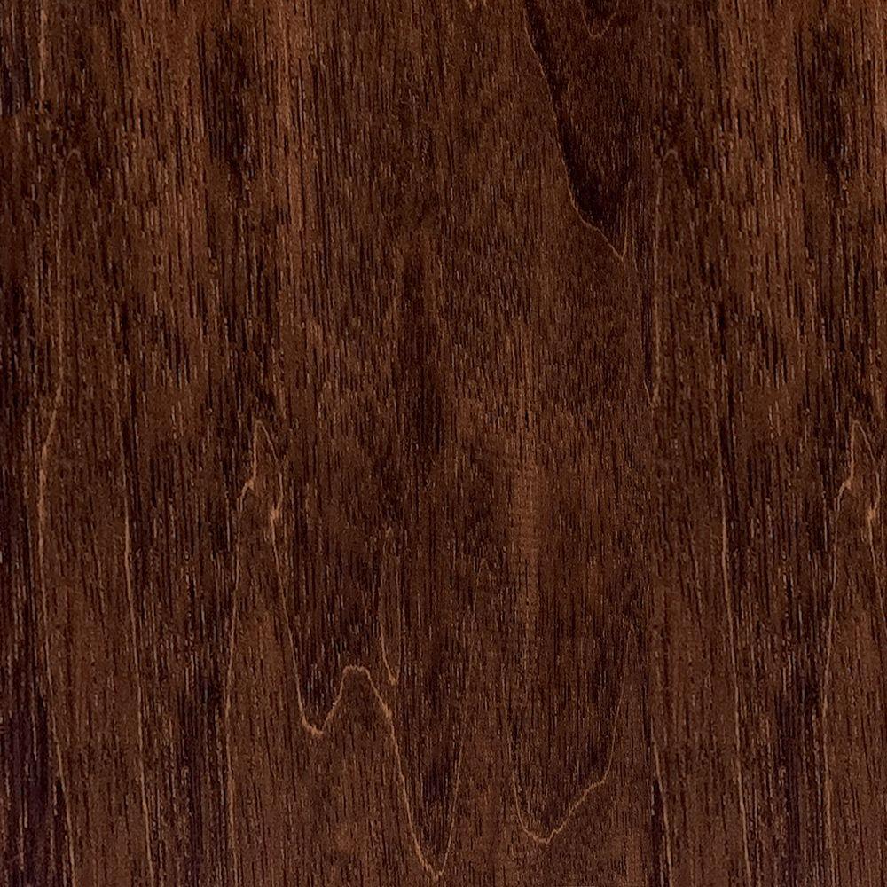 Take Home Sample - Hand Scraped Moroccan Walnut Engineered Hardwood Flooring - 5 in. x 7 in.