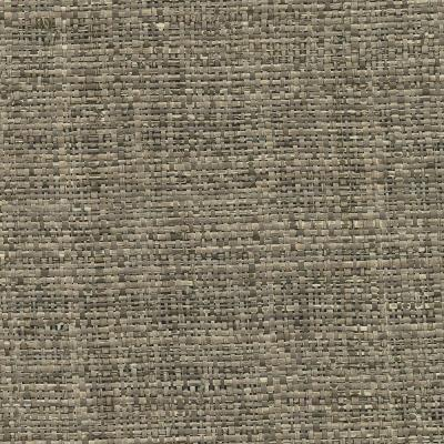 72 sq. ft. Mindoro Espresso Grass Cloth Wallpaper