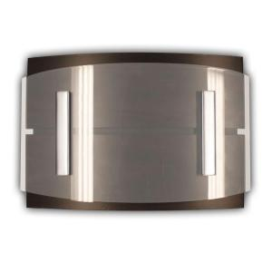 Heath Zenith Wireless Door Bell with Wood Finish Cover and Curved Acrylic Panel by Heath Zenith