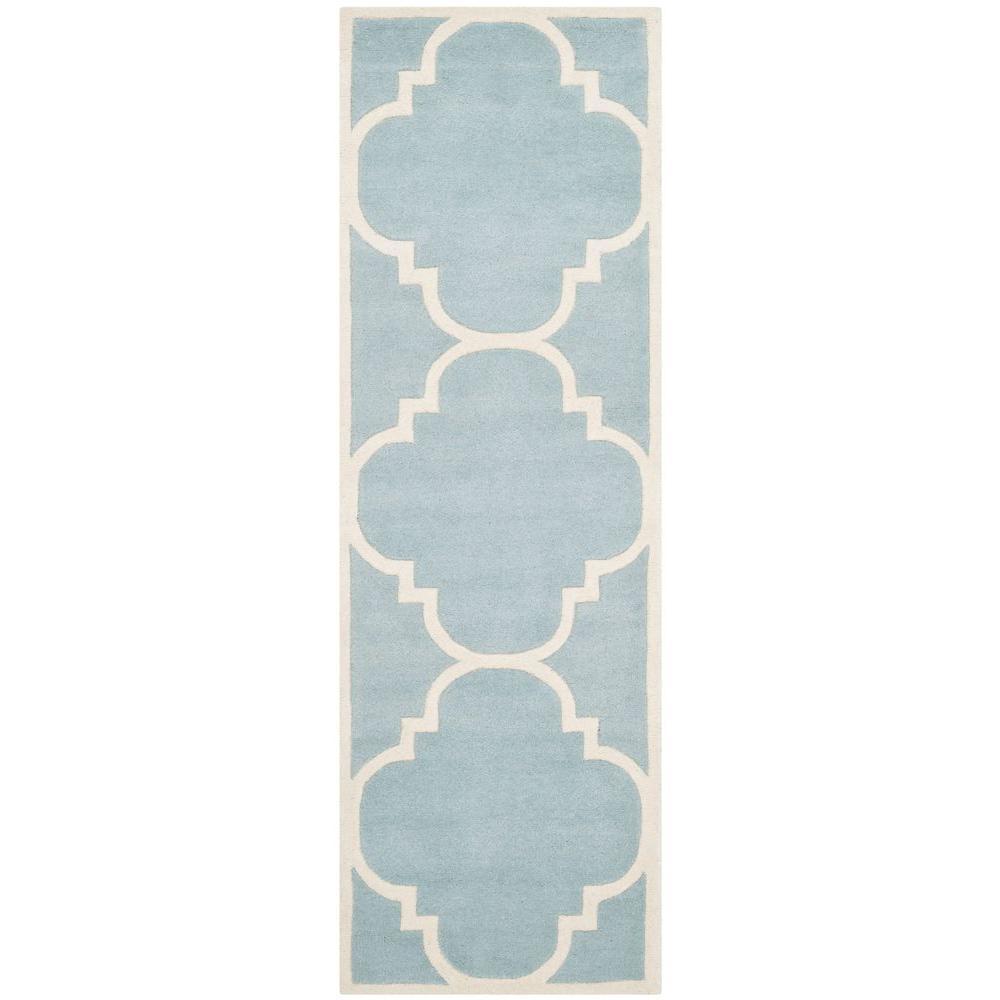Chatham Blue/Ivory 2 ft. 3 in. x 5 ft. Runner