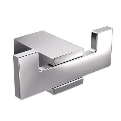 Kyvos Double Robe Hook in Chrome