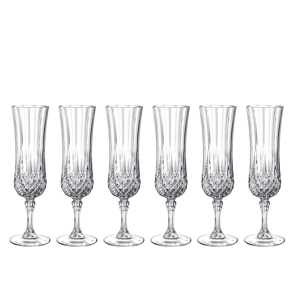 Longchamp 4.5 oz. Flute Glass (Set of 6)