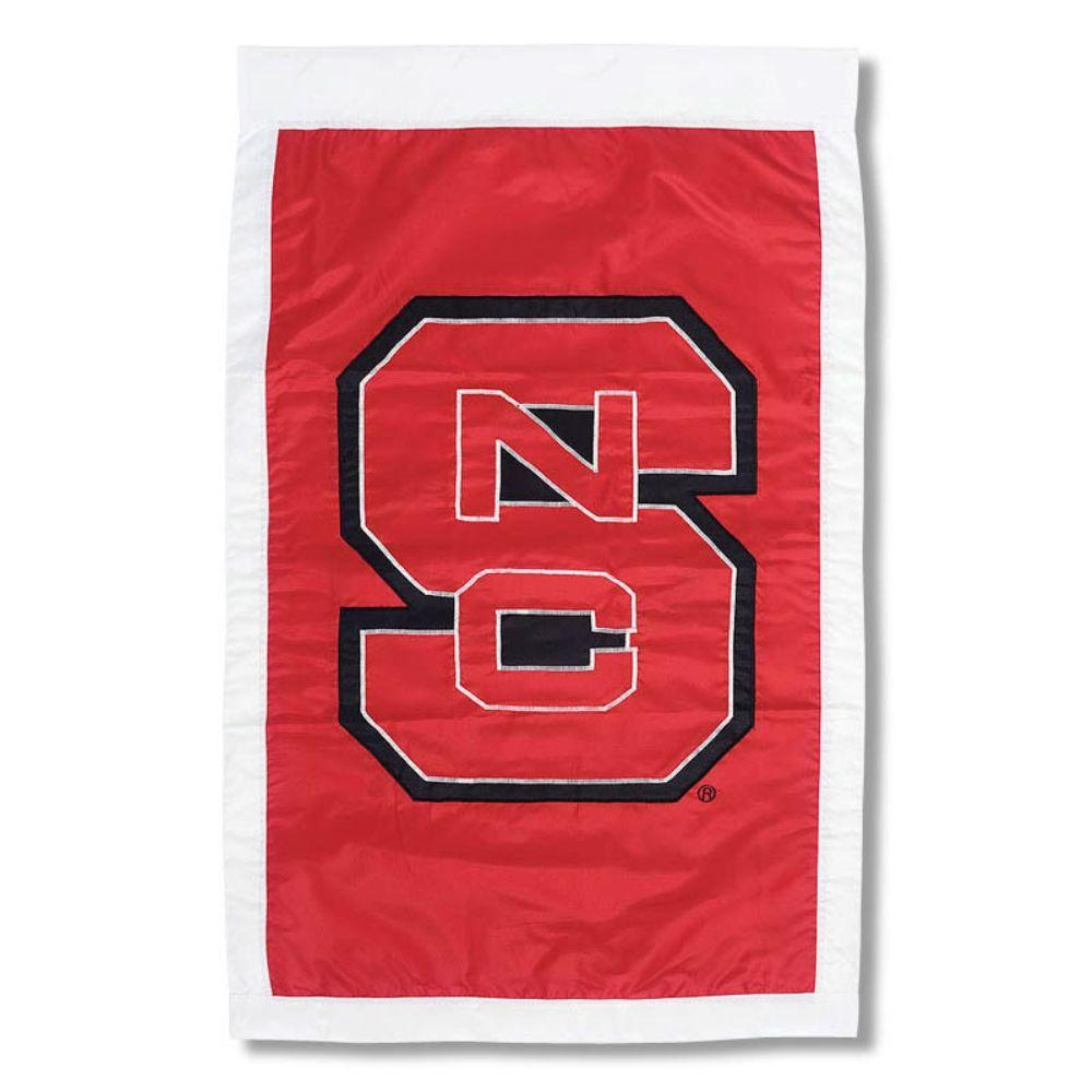 NCAA 28 in. x 44 in. North Carolina State University Applique