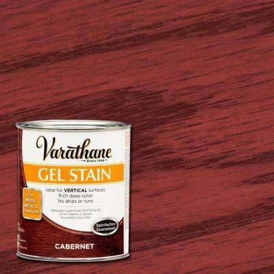 1-qt. Cabernet Gel Stain (Case of 2)